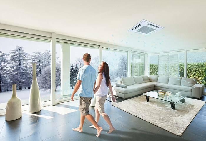 在室内同时开启大金中央空调和新风系统有什么好处
