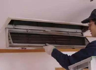 中央空调滤网该怎么进行拆卸?