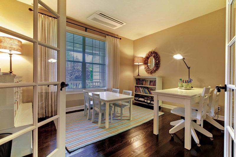 该怎样针对家用中央空调的布置进行设计